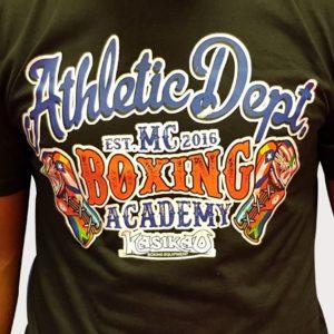 camiseta boxing academy
