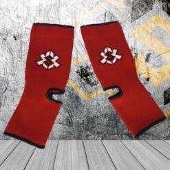tobilleras rojas económicas buen precio equipamiento deportivo kasikao