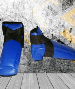 botines abiertos azul kasikao equipamiento deportivo protecciones buen precio