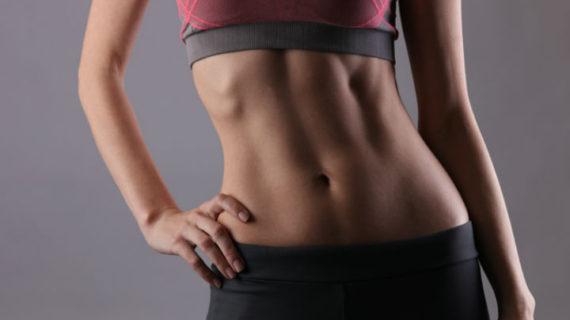¿Cómo marcar el abdomen en una semana?