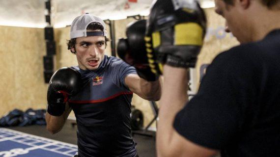Carlos Sainz, boxeo para poder pegar duro en las carreras