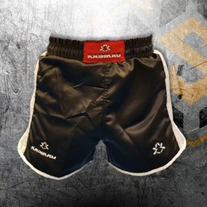 pantalones de thai negro muay thai