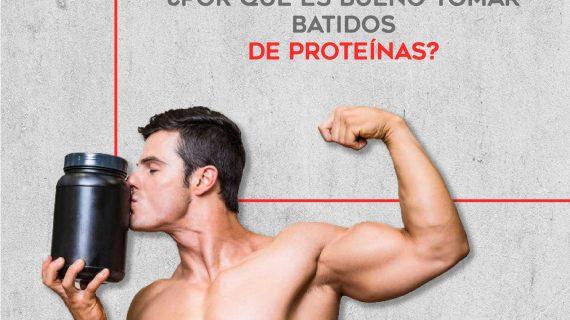 ¿Por qué tomar batidos de proteínas?