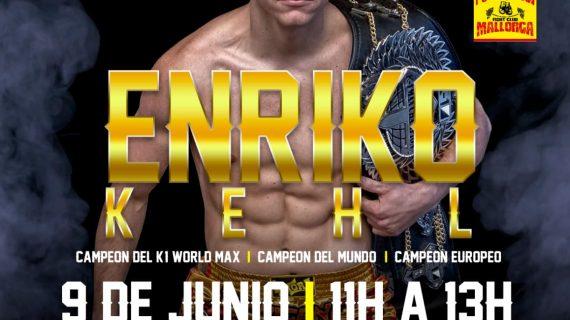 Enriko Kehl, uno de los mejores luchadores de K1, impartirá un seminario en Mallorca