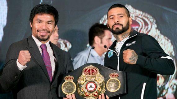 Lucas Matthysse vs Manny Pacquiao, la pelea del año: hora, televisación y todo lo que hay que saber