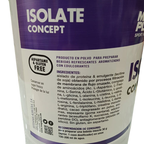 Isolate-megaplus-ingredientes