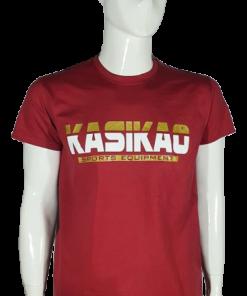 camiseta clasica burdeo