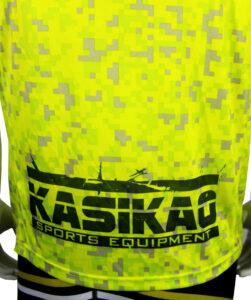 Camiseta Amarilla Píxel